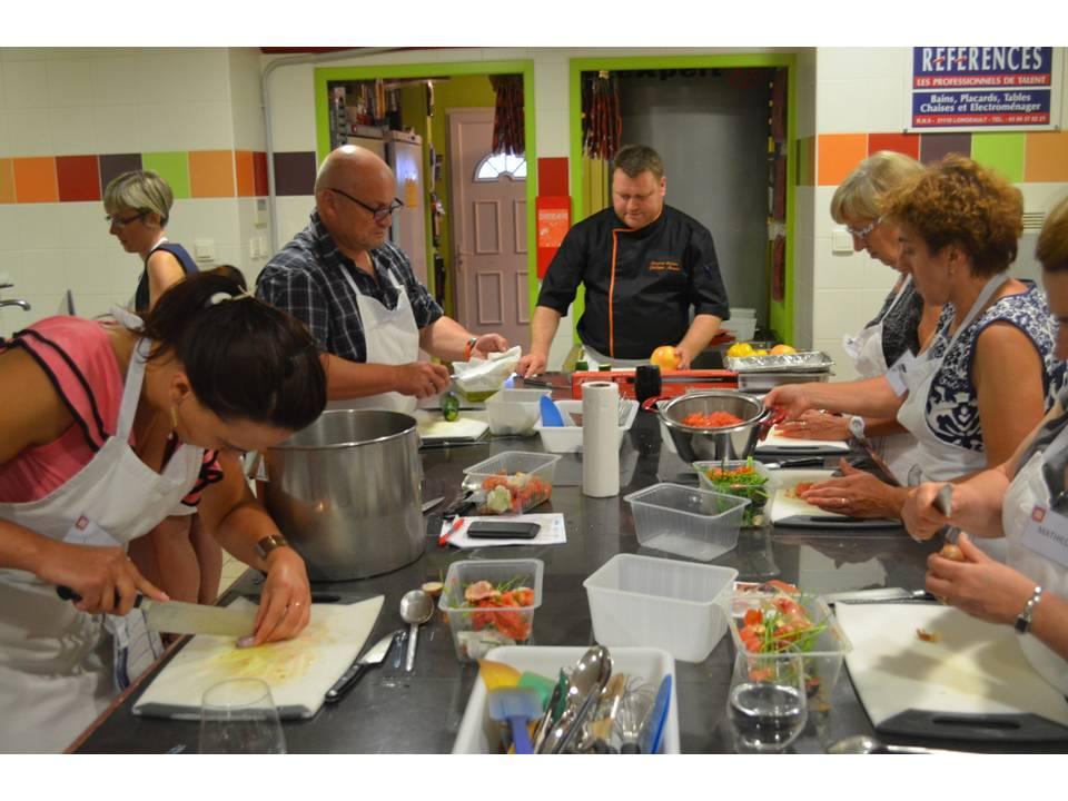 Bourgogne gastronomique a vos fourneaux triplancar - Cours de cuisine gastronomique ...