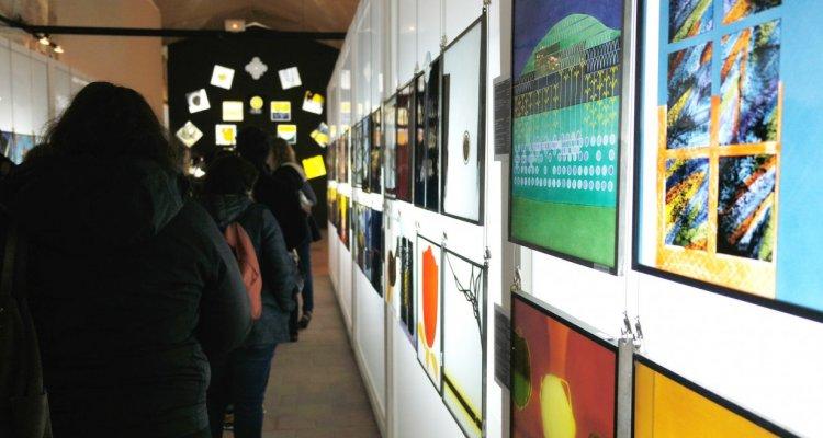 Visite du Centre International du Vitrail à Chartres