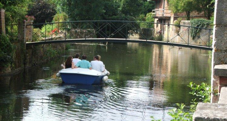 Bateaux électriques sur le Loir