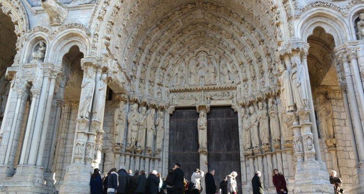 Visite de la cathédrale de Chartres