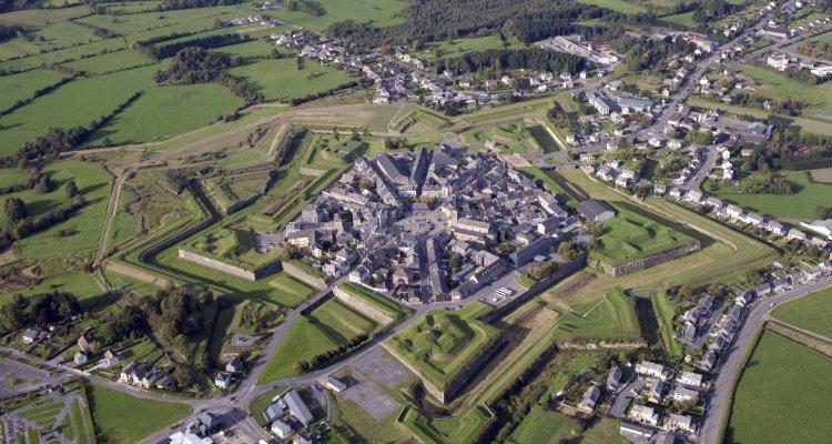 Ville de Rocroi et ses fortifications en étoile