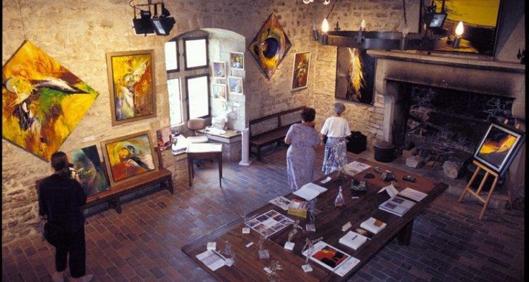 Espace d'exposition tour médiévale