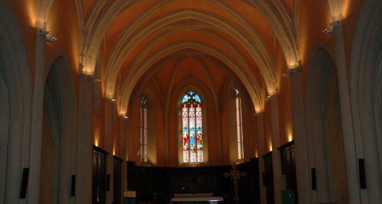 Intérieur de l'Eglise St Symphorien