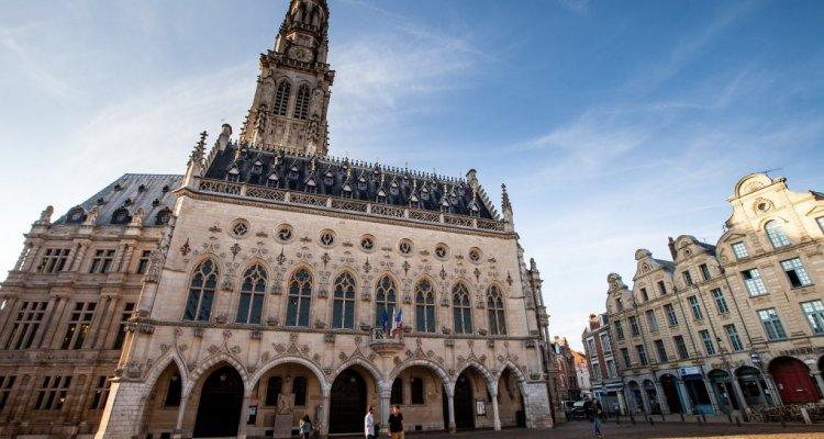 Hôtel de ville beffroi d'Arras