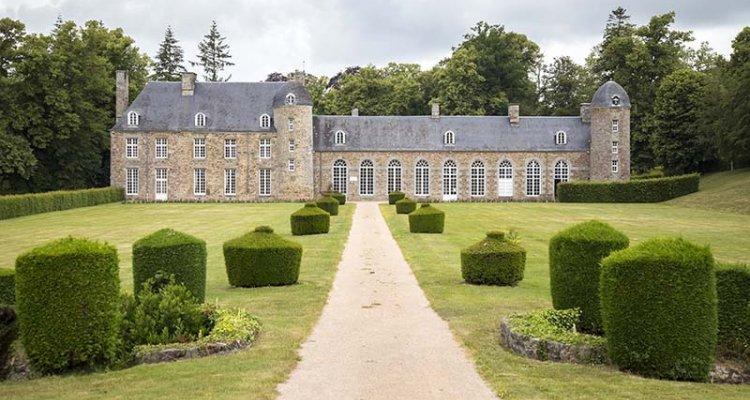 le château de Pontécoulant, Pays de Vire, Calvados, Normandie