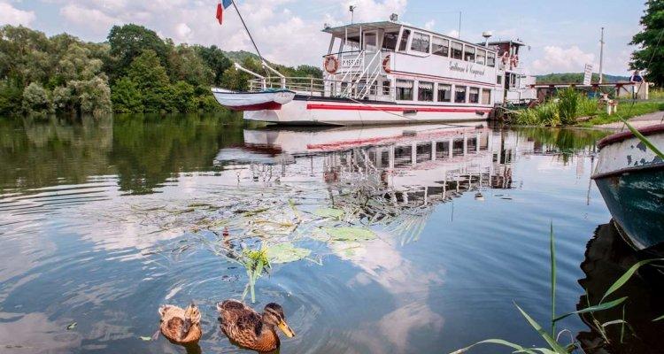 Croisière sur la Seine à bord du Guillaume Le Conquérant