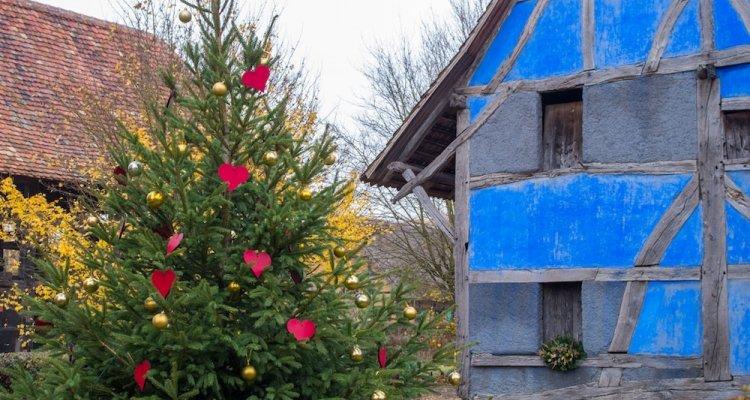 Noël authentique Ecomusée d'Alsace