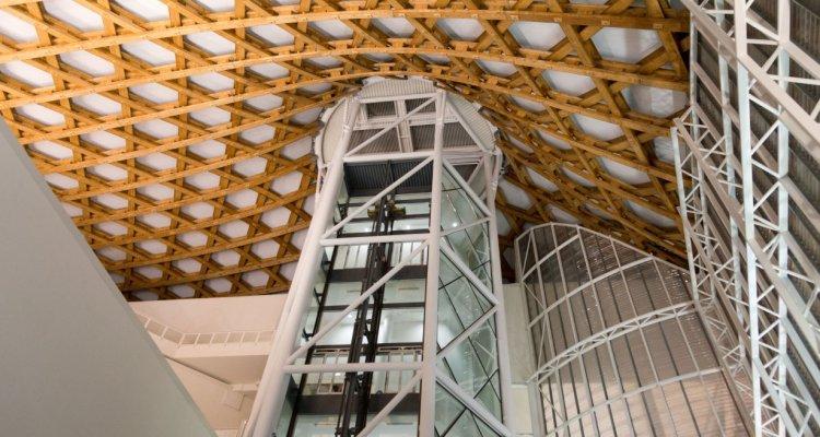 © Shigeru Ban Architects Europe et Jean de Gastines Architectes, avec Philip Gumuchdjian pour la conception du projet lauréat du concours / Metz Métropole / Centre Pompidou-Metz  / Photo Jacqueline Trichard