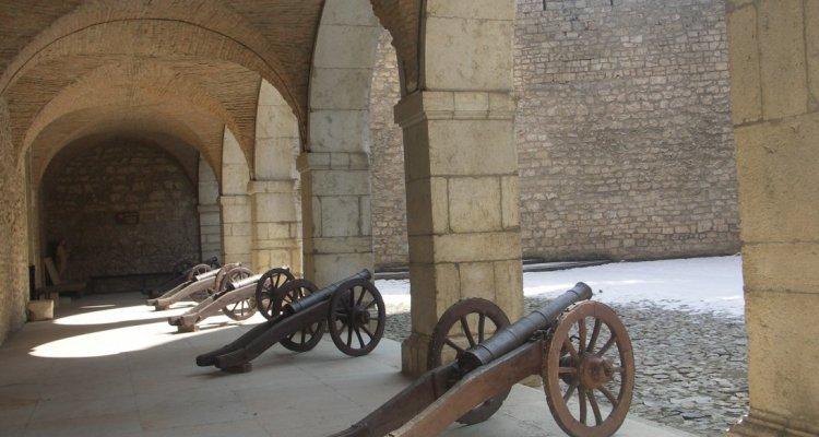 Galerie des canons château de Virieu