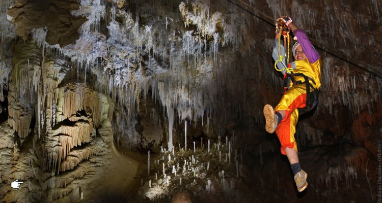 Le Spéléopark de la Grotte de Clamouse