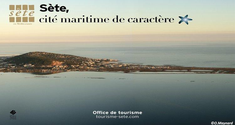 Sète, Cité maritime - vue aérienne