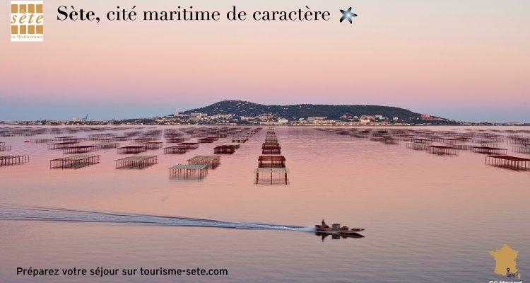 Sète, Cité maritime - Vue étang de Thau