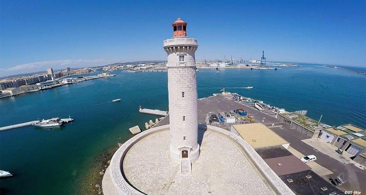 Sète - Vue du phare