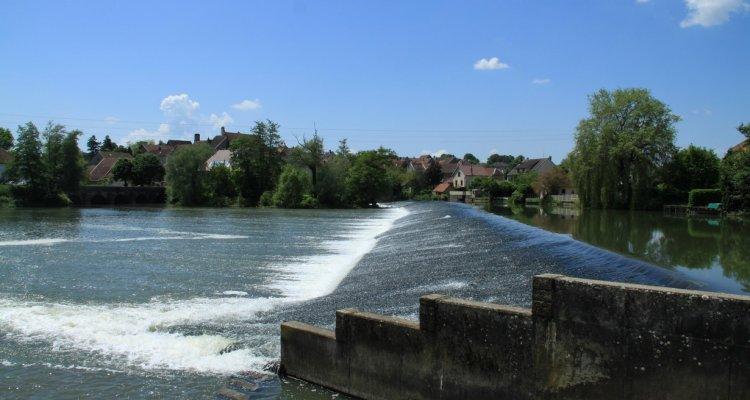 Barrage de Marnay, l'Ognon