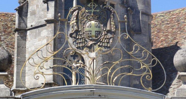 Les armes du Cardinal de Choiseul
