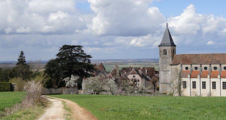Vue de l'église Saint-Symphorien