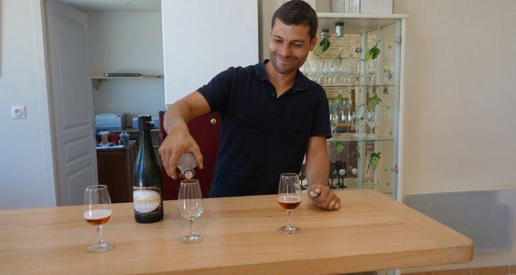 Mathieu Colin, viticulteur