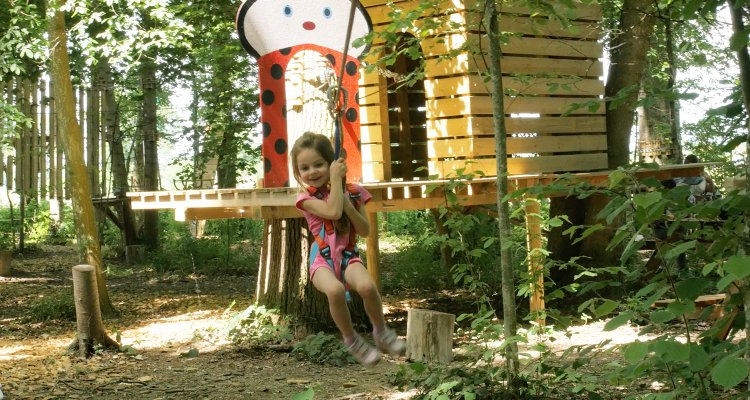 Parcours accrobranche enfant Jumping Forest