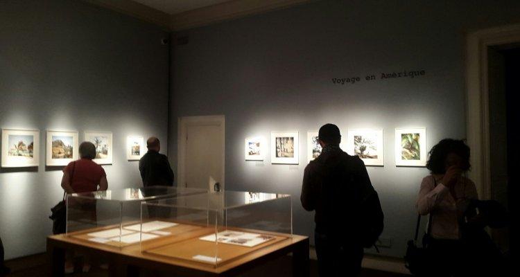 Campredon centre d'art. Salle exposition du premier étage