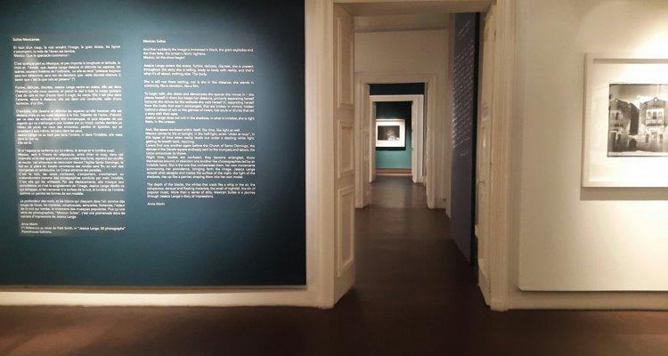 Campredon centre d'art. Salles d'exposition du premier étage