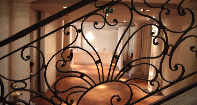 Campredon centre d'art, le grand escalier