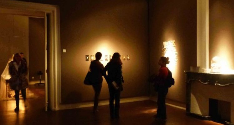 Campredon centre d'art. Salle d'exposition du premier étage