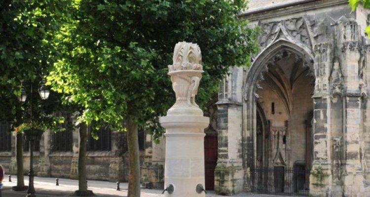 Fontaine du XVIème siècle à Montivilliers