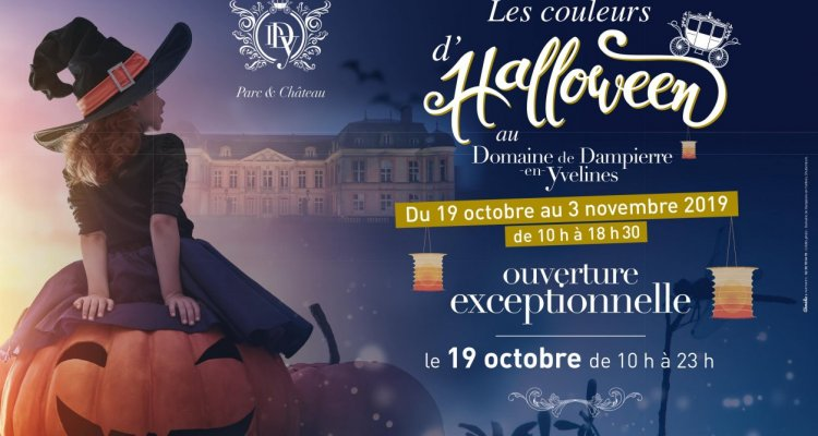 Couleurs d'Halloween / Domaine de Dampierre-en-Yvelines