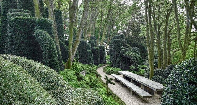Les Jardins d'Etretat: vue sur le Jardin d'Aval