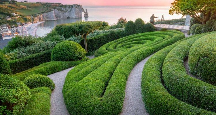 Les Jardins d'Etretat: panorama