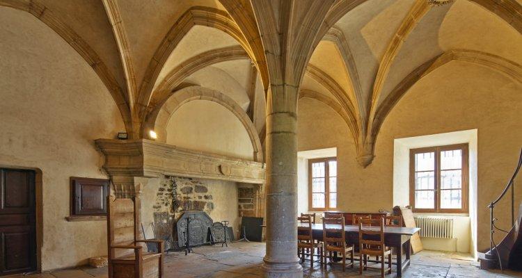 Salle du Chapître - Crémieu - © Didier Jungers