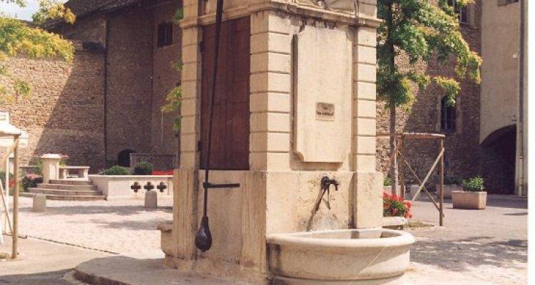 Fontaine à balancier