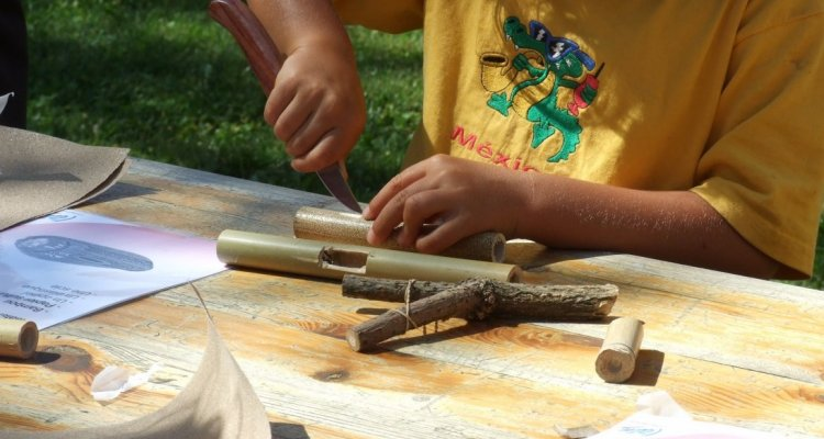 Atelier jouet musée du révermont
