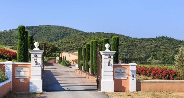 cote de provence vin rosé chateau vaudois tourisme var roquebrune visite