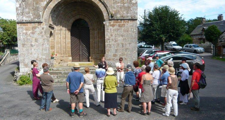 intérieur extérieur visite groupée Sumène Artense Cantal Prestations