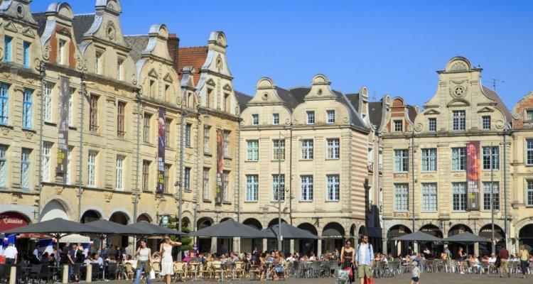 Arras place des Héros