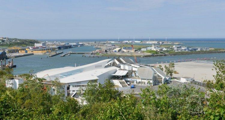 Boulogne-sur-mer vue du port