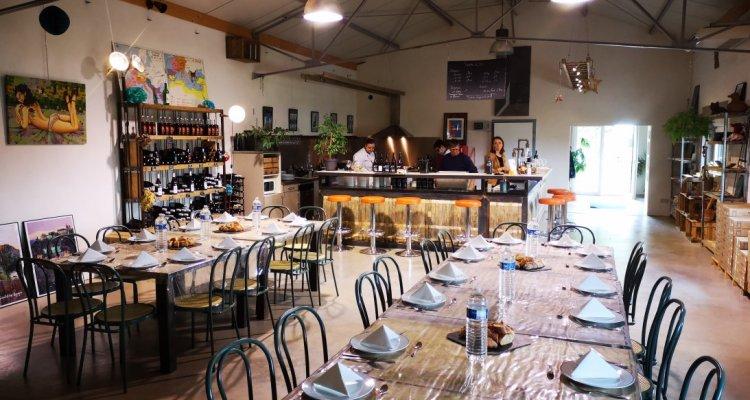 Repas vigneron au Clos Troteligotte