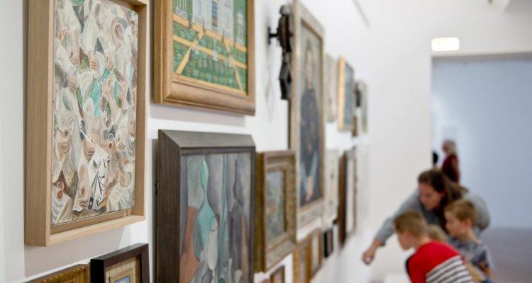 Vue des salles d'art moderne du LaM, Villeneuve d'Ascq. © F. Iovino