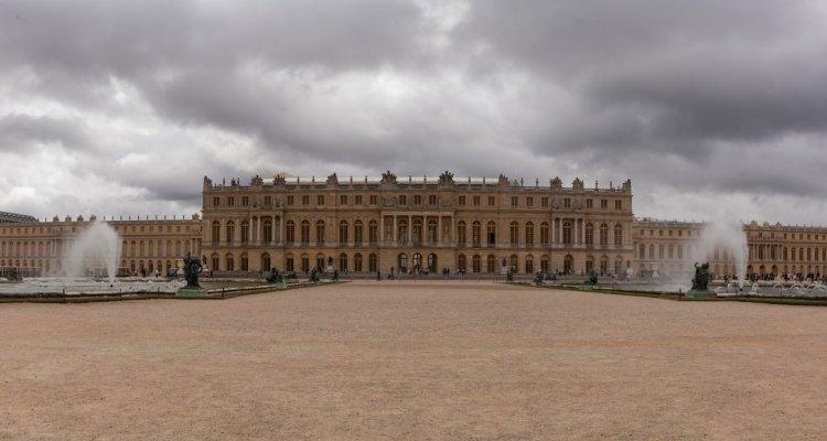 Château de Versailles vue