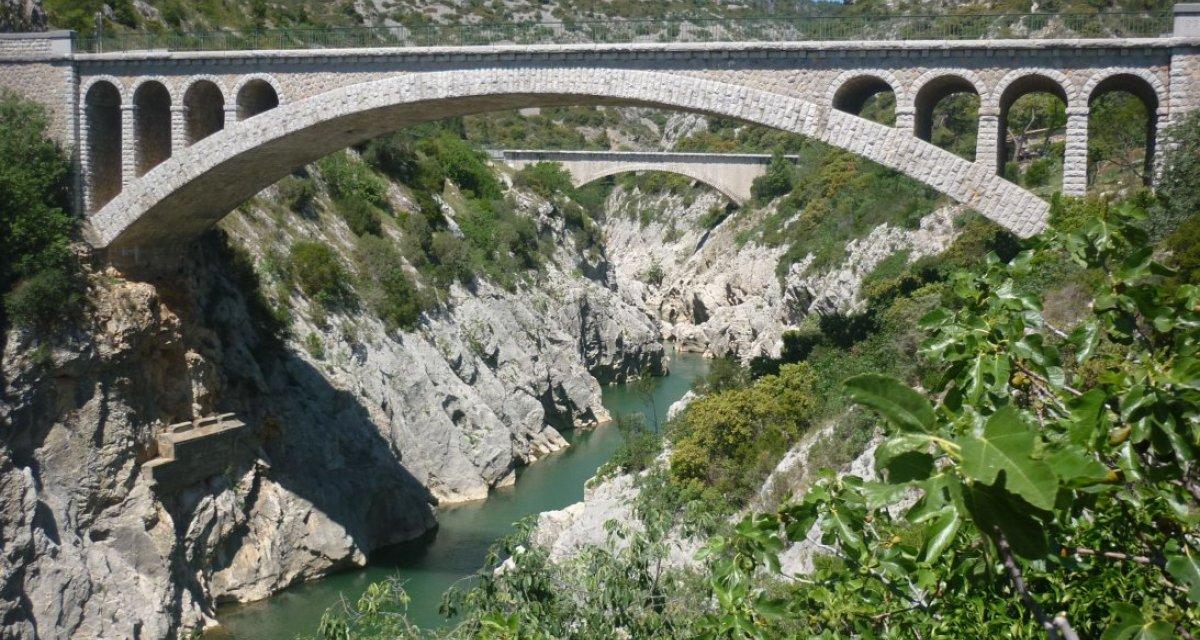 Pont du diable Saint-Guihlem-le-désert