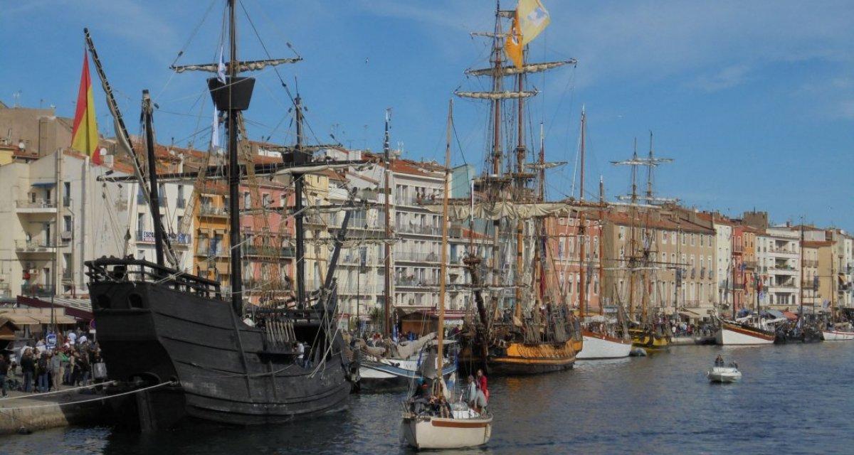 Escale à Sète bateaux