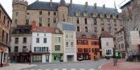 Façadae château côté ville