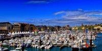 Vue Port de Dieppe