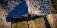 Ferme Caussenarde d'Autrefois - toiture en lauzes calcaire