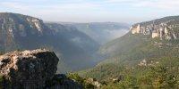 Vue sur les Gorges de la Dourbie