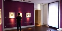 Campredon centre d'art. Salle exposition du deuxième étage