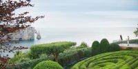 Les Jardins d'Etretat: panorama jour