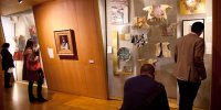 Dans les combles, les espaces consacrés aus juifs Sefarades présentent aussi une collection textile magnifique