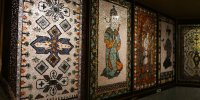 Tapis persans du Palais minéral